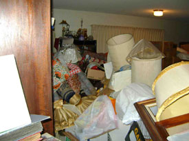 Residential Hoarder Clean Up